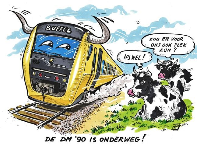 Vriendenrit 2018 (Cartoon Hans Proper).