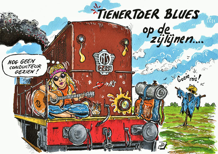 Cartoon Tienertoer. (Hans Proper)